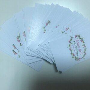 визитки, цифровая печать