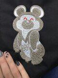 Олимпийский мишка вышивка Краснодар